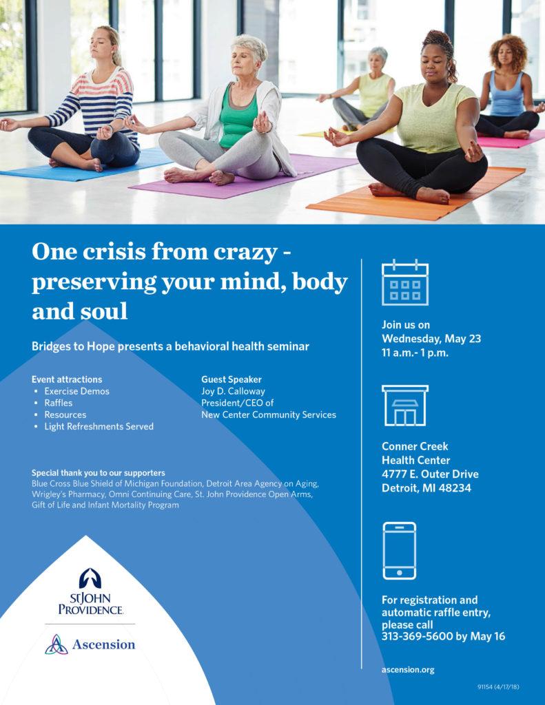 Behavioral Health Flyer 5.23
