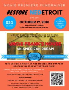 MOVIE PREMIERE FUNDRAISER RestoreNED